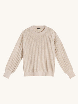 Nerline Beige Sweater