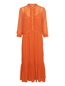 Peaches Dress Emberglow