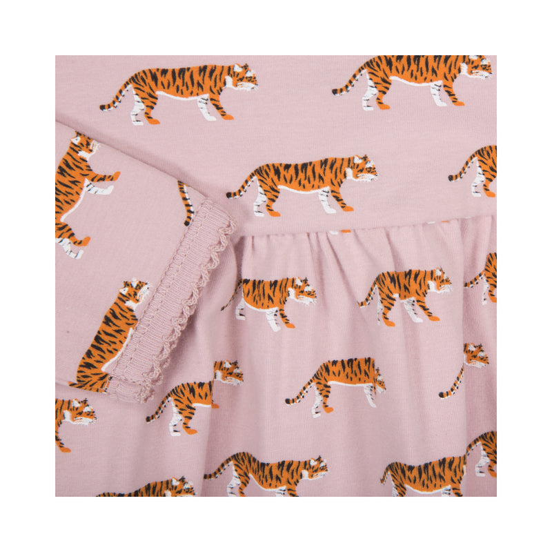 Tiger Dress Rose