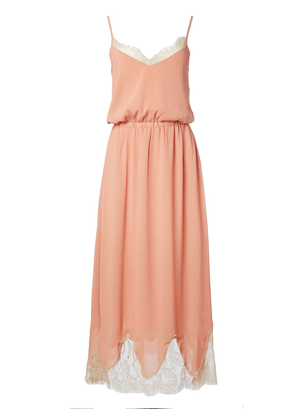 Rumba Dress Champagne