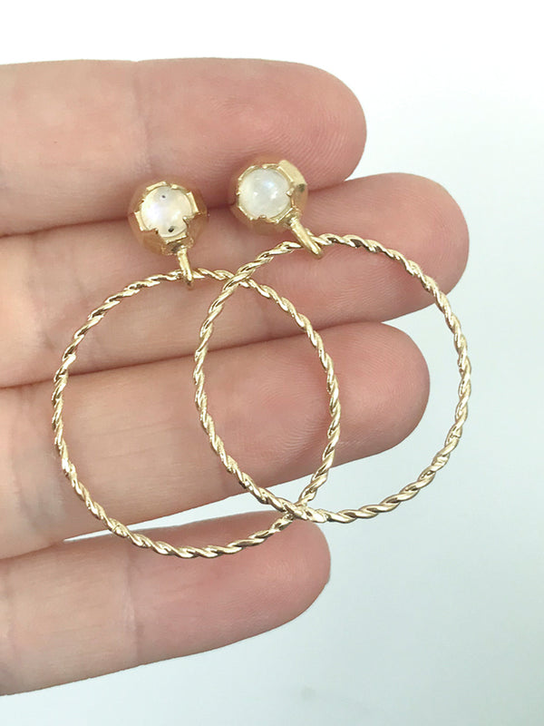 Reef Hoop Earrings