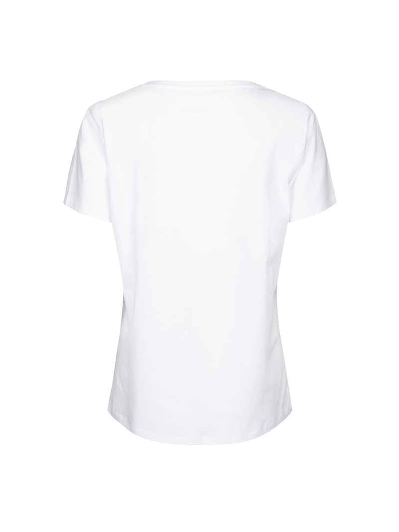 Eagle Logo T-Shirt White