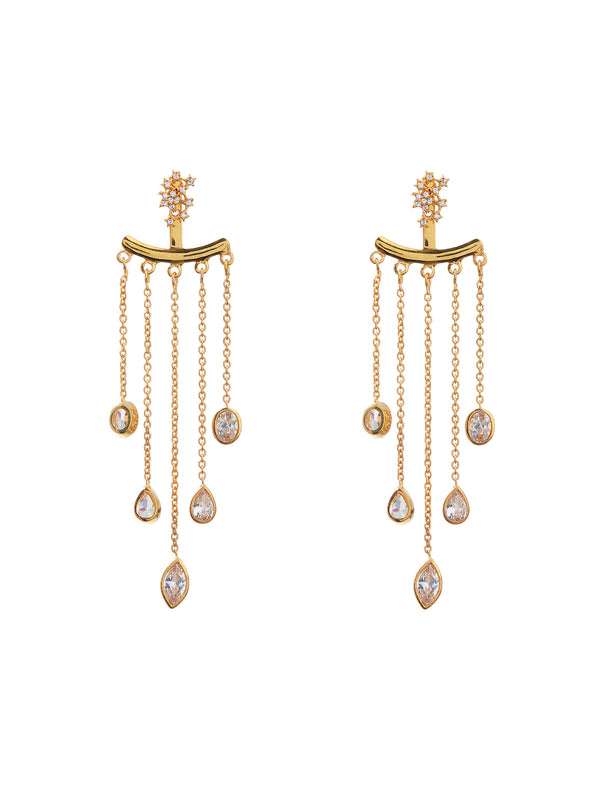 Stela Dazzling Stone Earrings