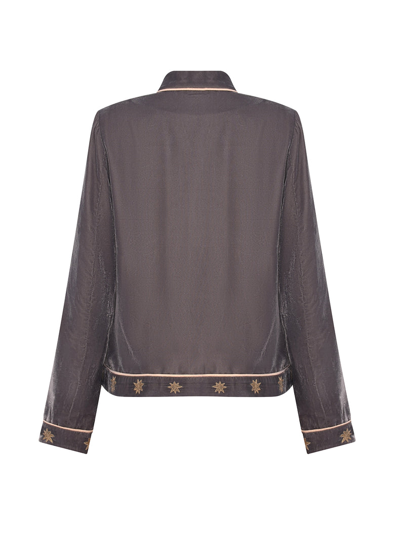 Stella Velvet Jacket Grey