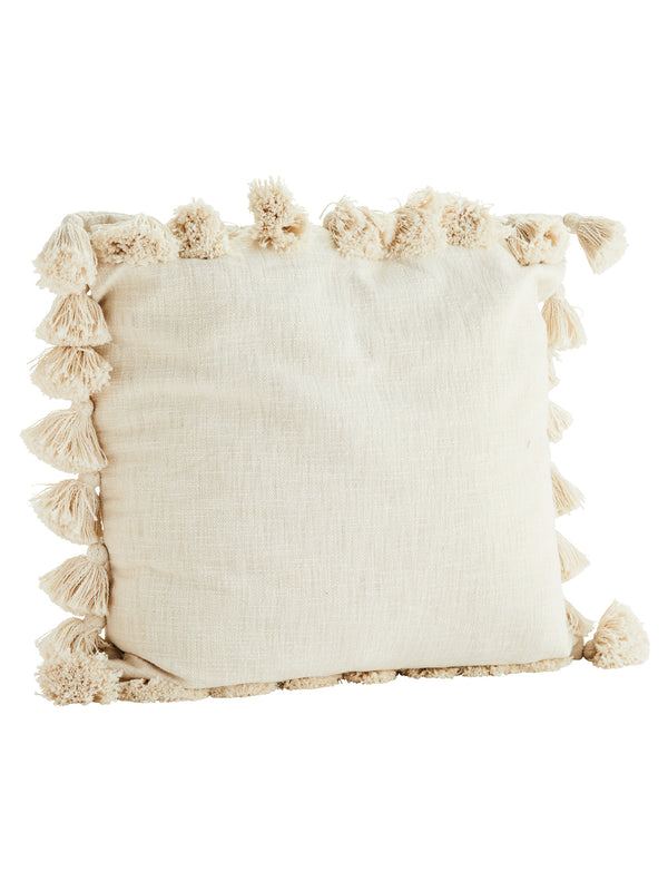 Tassel Fringed Cushion