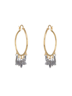 Tessa Oxidised Earrings