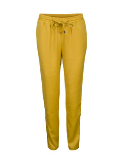 Mustard Gold Stripe Trousers