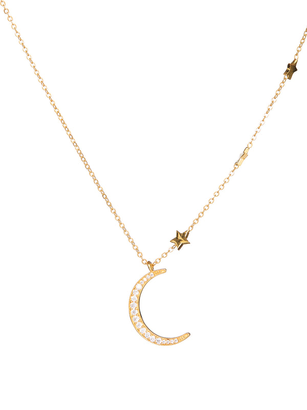 Veda Gold Necklace