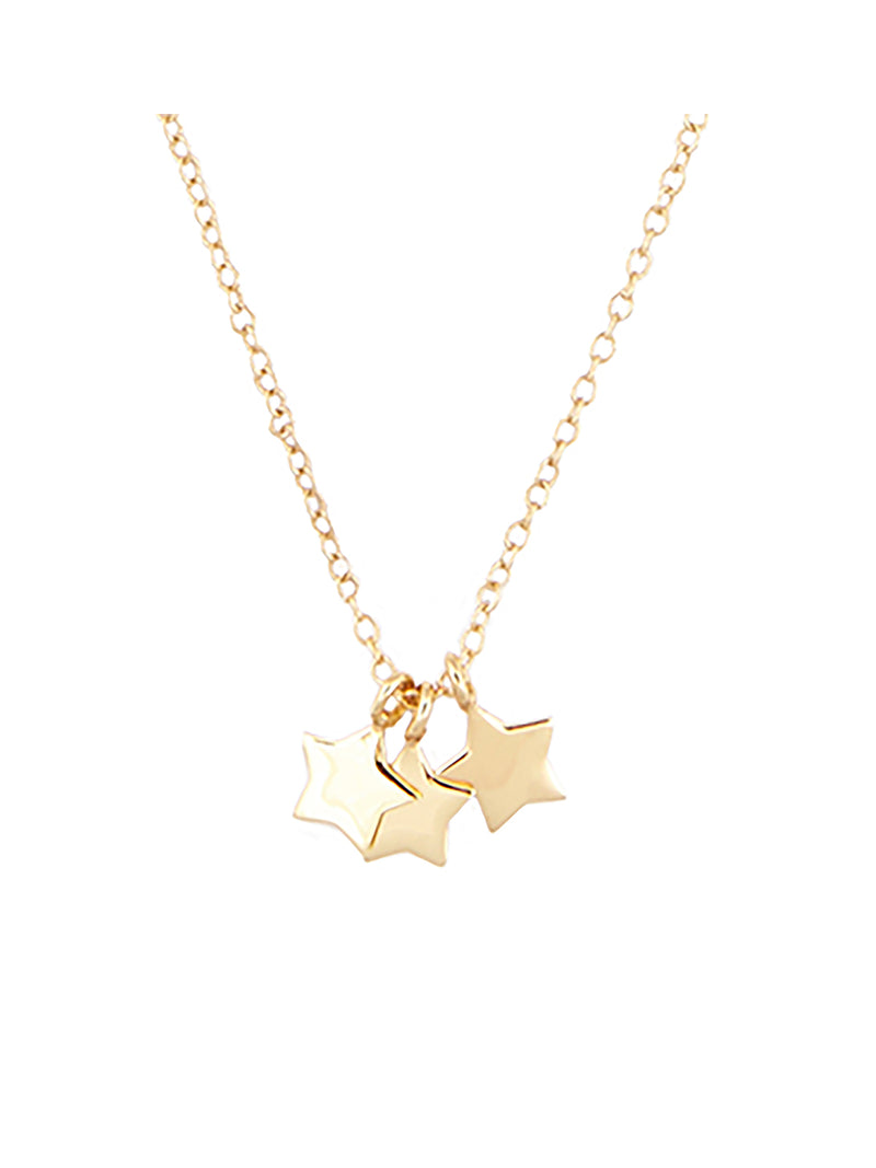 Fortune Three Star Necklace