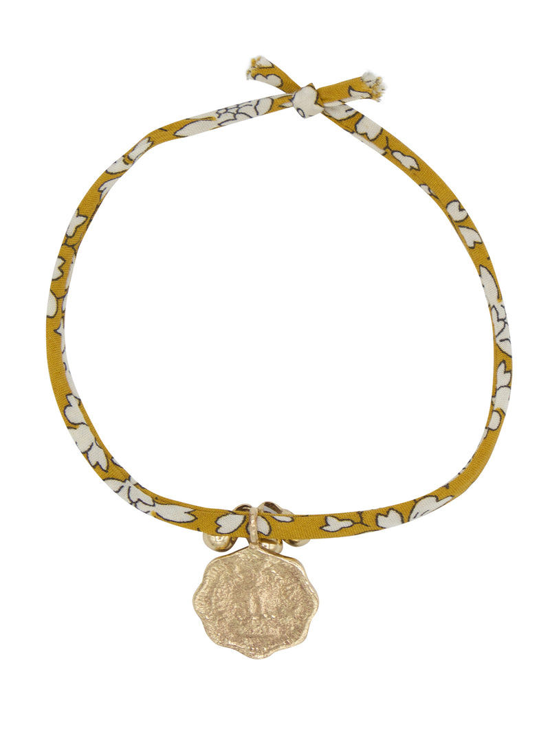 Liberty Rope Coin & Bells Bracelet