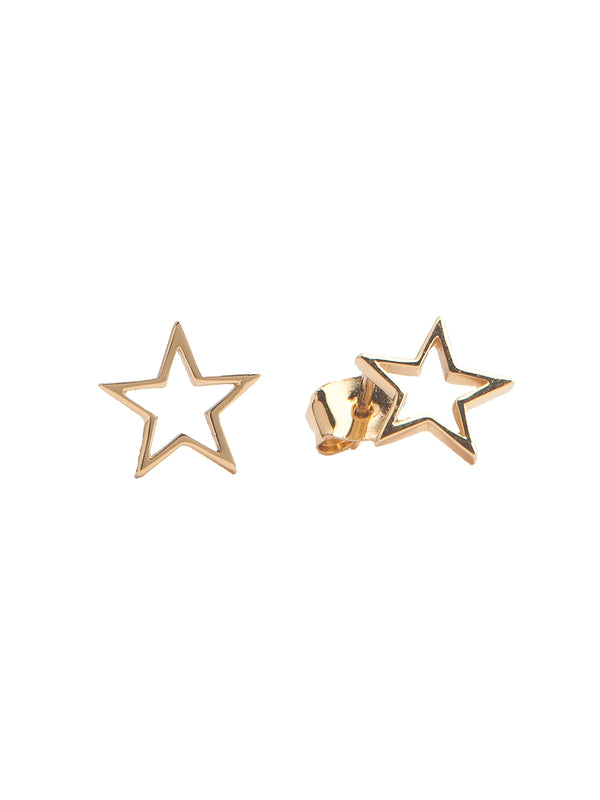 Parade Gold Star Earrings