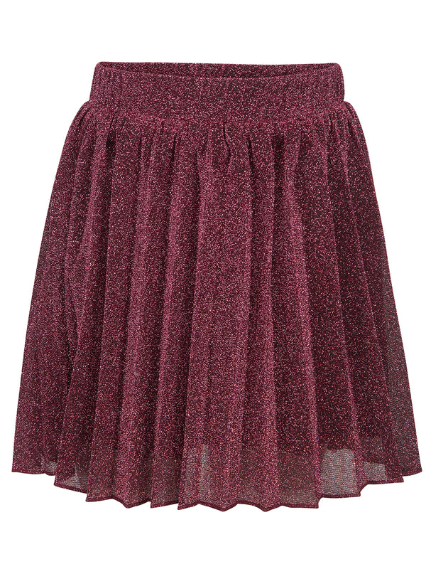 Pink Mid-Length Sparkle Skirt