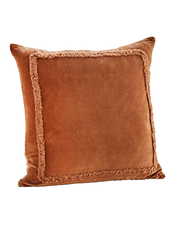 Velvet Orange Cushion