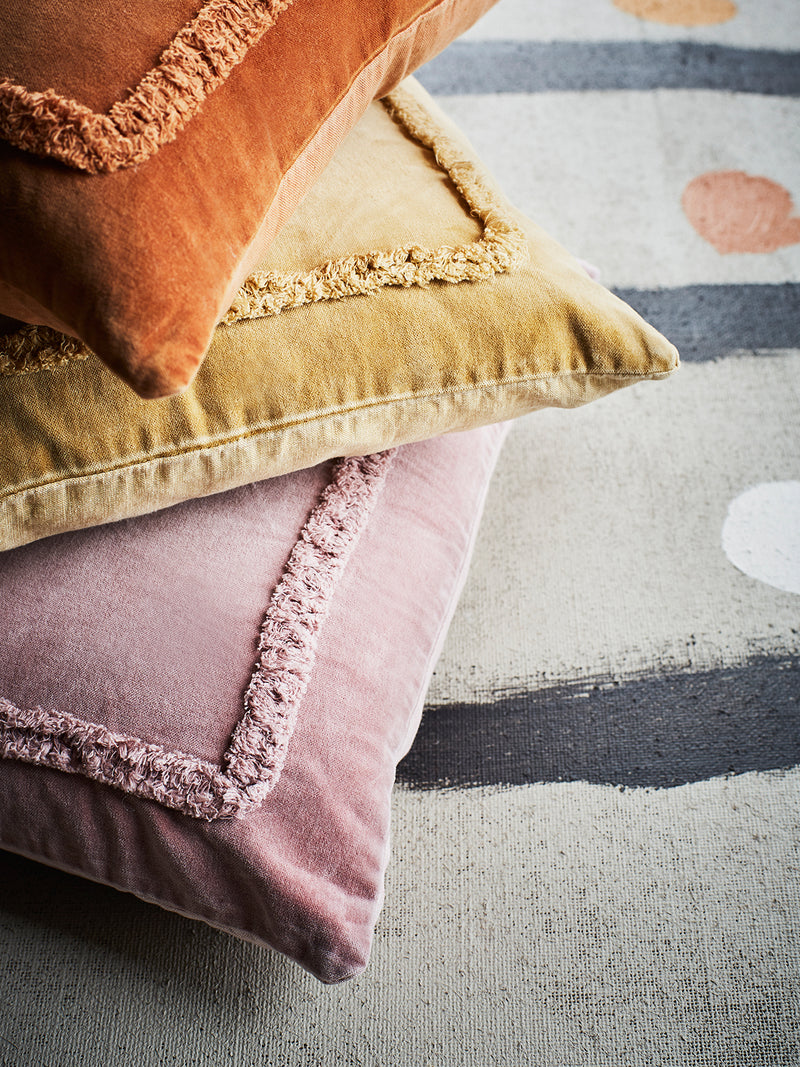 Velvet Blush Cushion