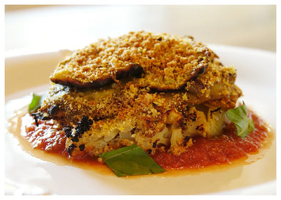 "Cauliflower ""Parm"""