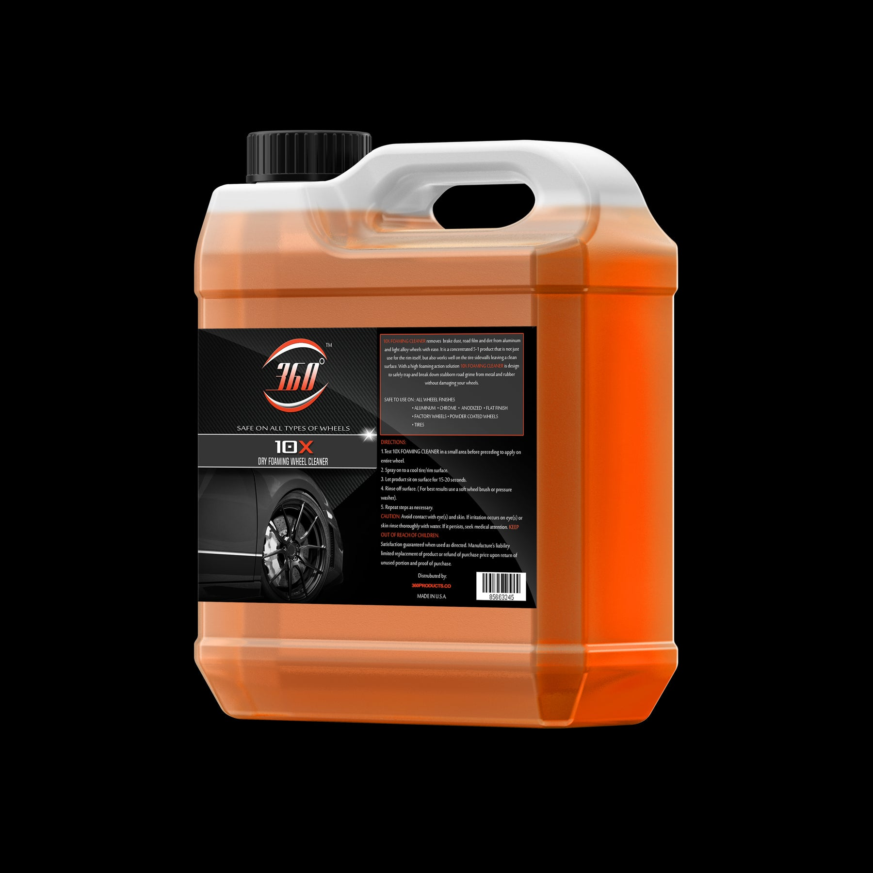 10X Wheel & Tire Degreaser