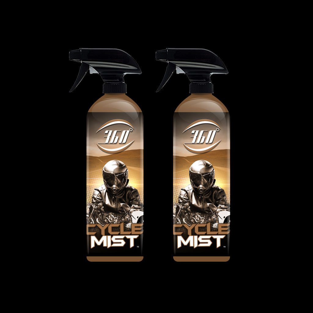 Cycle Mist: Motorcycle cleaner (2 Pack)
