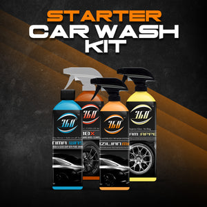 Starter Car Wash Kit  - 16oz Brazilian Mist - Optima Wash - 10x- Xtream Appeal