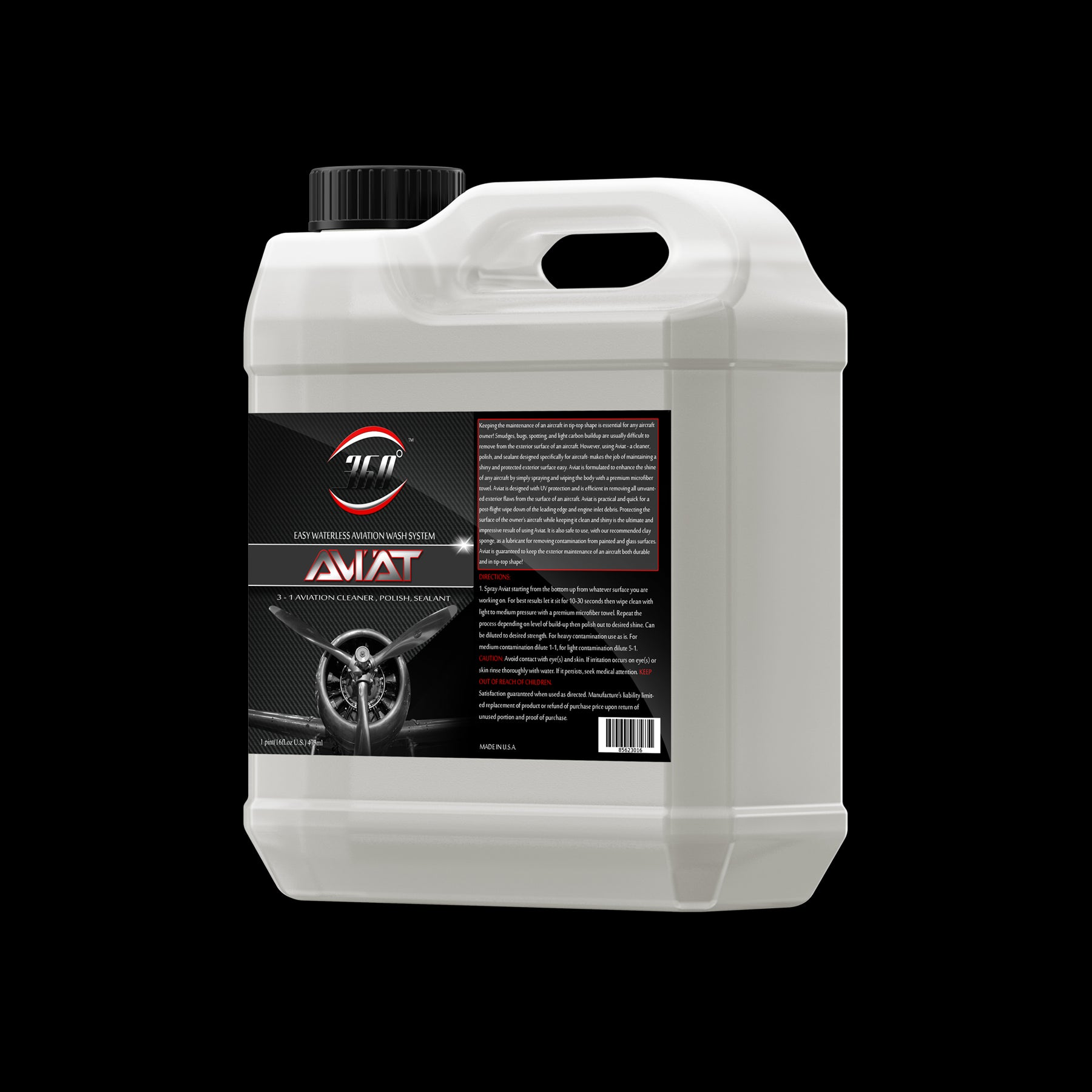 Aviat | EASY WATERLESS AVIATION WASH SYSTEM