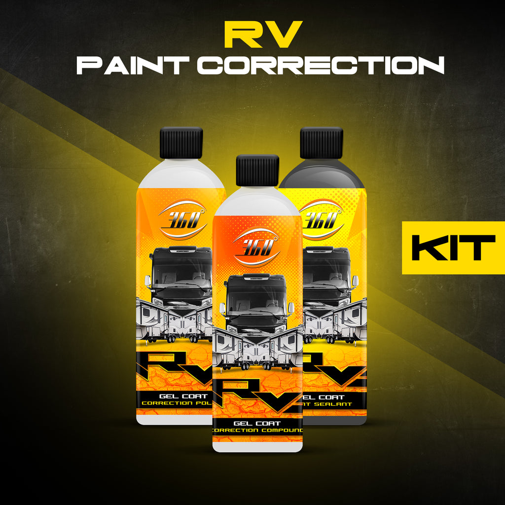 RV Paint Correction Kit | 3 Step Paint Correction System