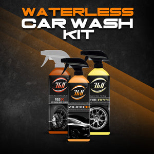 WATERLESS TECHNOLOGY KIT 3pk 16oz. ( Brazilian Mist, 10-X, Xtream Appeal