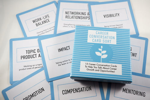 Career Conversation Card Sort [PRE-SALE ONLY]