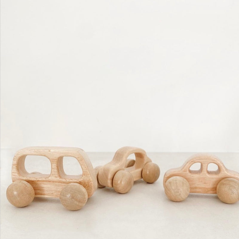 Eco Wooden Car Set