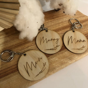 Mother's Day Acrylic Keyring