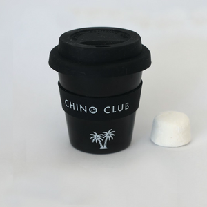 Personalised BLACK Baby Chino Keep Cup