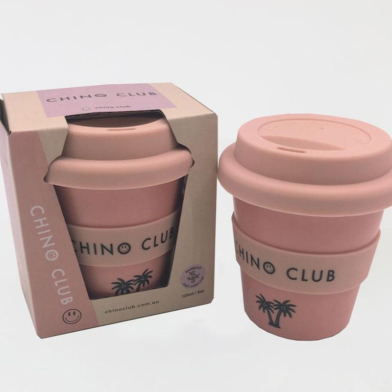 Personalised Pink Chino Keep Cup