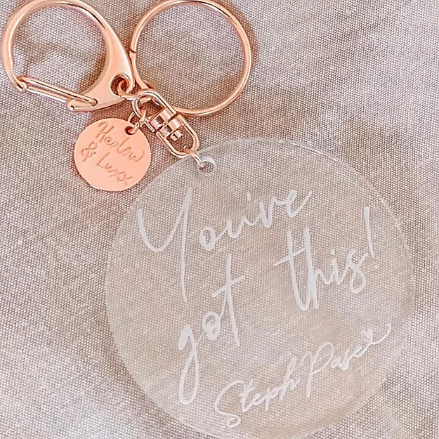 Steph Pase 'You've got this' Keyring