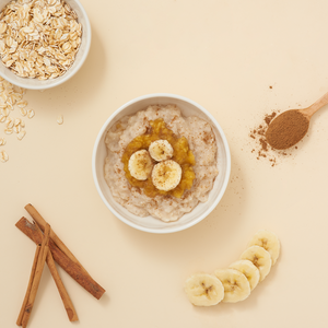 Banana Cinnamon Oatmeal Porridge