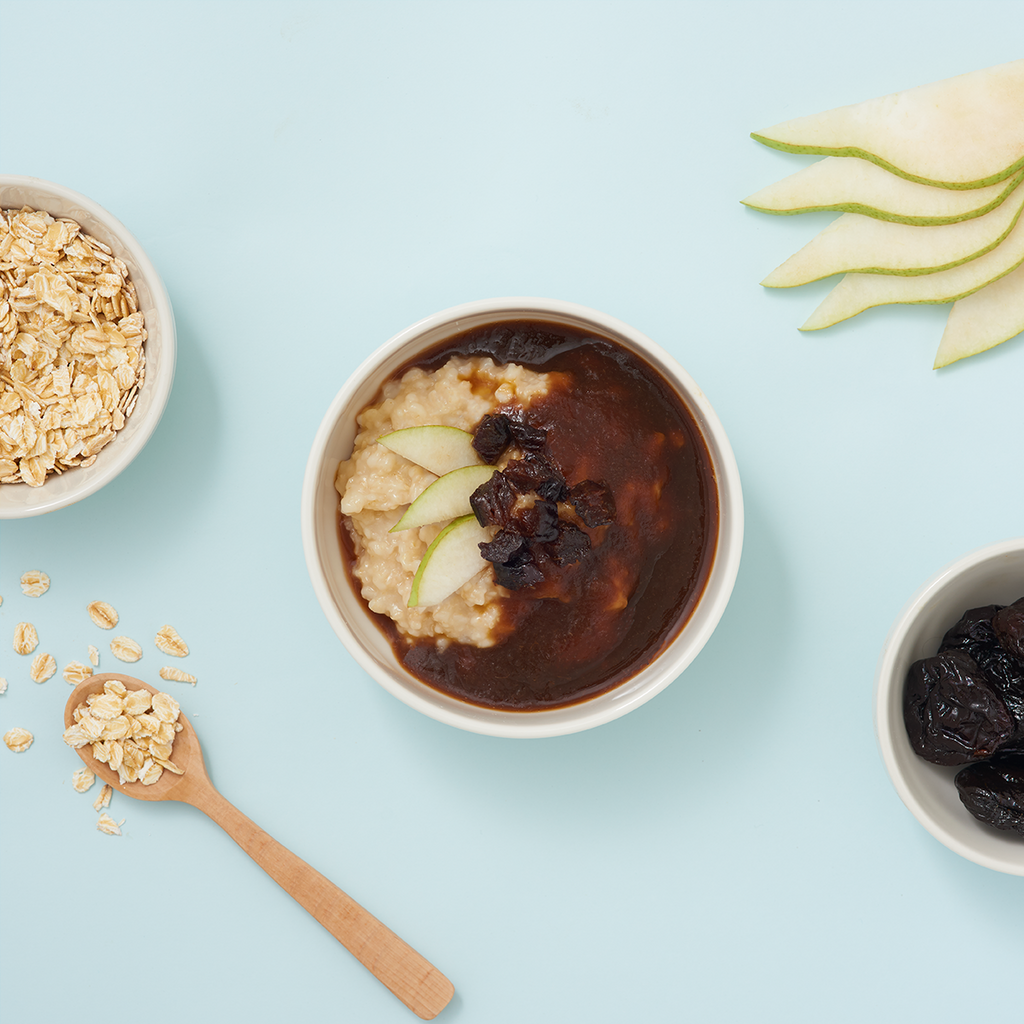 Pear & Prune Oatmeal Porridge