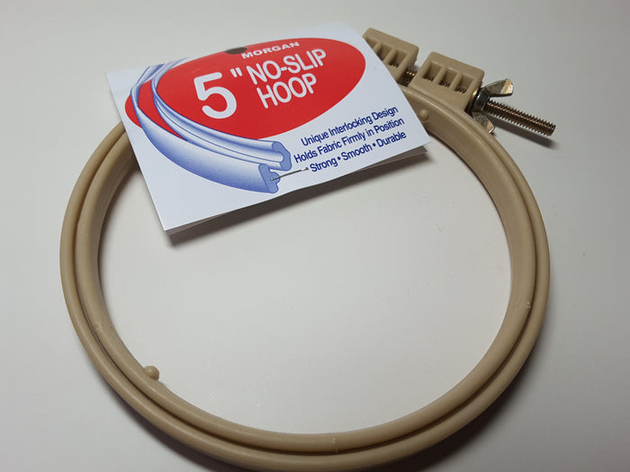Morgan 5 inch NO Slip Hoop for Punch Needle Embroidery