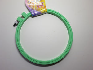 Susan Bates 6 inch NO Slip Hoop for Punch Needle Embroidery