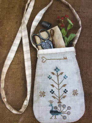 SEWING POUCH Cross Stitch Kit - Stacy Nash Primitives Cross Stitch