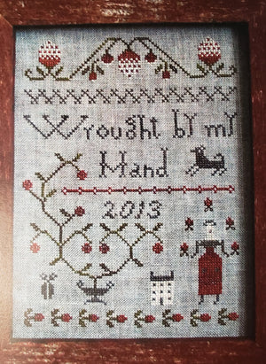 WROUGHT BY MY HAND Cross Stitch Kit - Pineberry Lane Cross Stitch