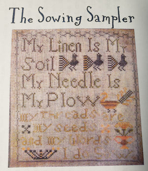 THE SOWING SAMPLER Cross Stitch Kit - Notforgotten Farm Cross Stitch