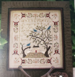 BIRDS OF A FEATHER SAMPLER Cross Stitch Kit - With Thy Needle & Thread Cross Stitch