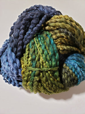 SUMMER MEADOW - Multicolour Chunky Hand Dyed Yarn - Fleece Artist