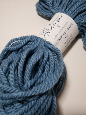 BRIGHT BLUE Bulky Yarn for Rug Hooking