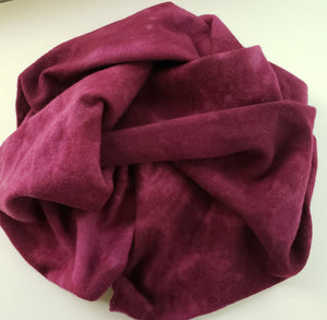 MAJESTIC MAGENTA  - Shades of Violet Red -  Wool Fabric Hand Dyed in Studio - RSS188