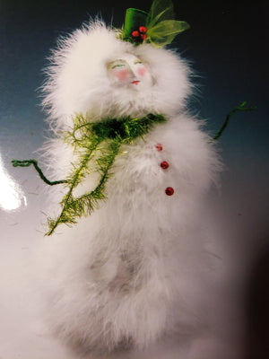 LET IT SNOW - Pattern for Snow Art Doll by Cindee Moyer