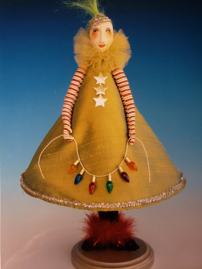 TREESA - Pattern for Cloth Art Doll by Cindee Moyer