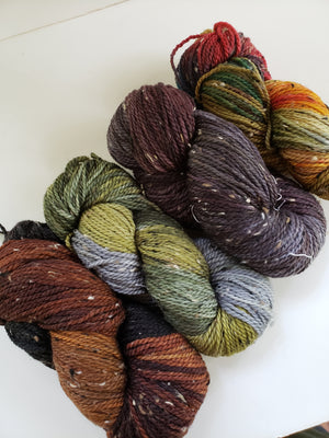 Vagabond Misfits 98803 - THICKET EARTH - Merino Wool Yarn- Choose Your Skein