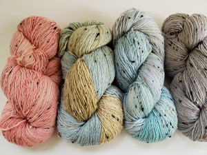 SKY TWEEDS  - Vagabond Misfits 95778 - Merino Wool Yarn- Choose Your Skein