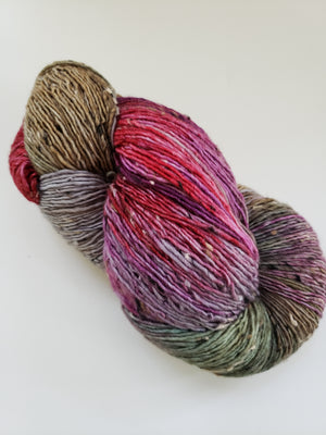 Vagabond Misfits 95776 - FALL ORCHARD TWEEDS - Merino Wool Yarn- Choose Your Skein