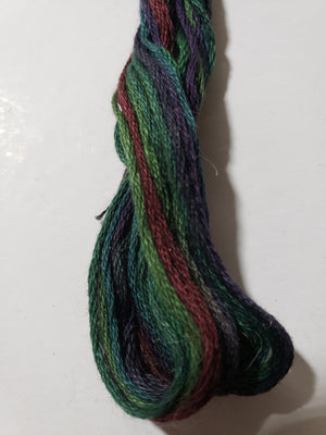 0525 Highland Heather Hand Dyed Cotton Embroidery Thread 6-ply Valdani