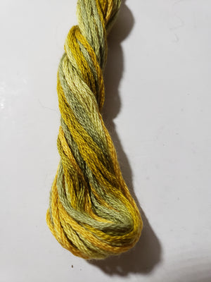 0554 Harvest Calm Hand Dyed Cotton Embroidery Thread 6-ply Valdani