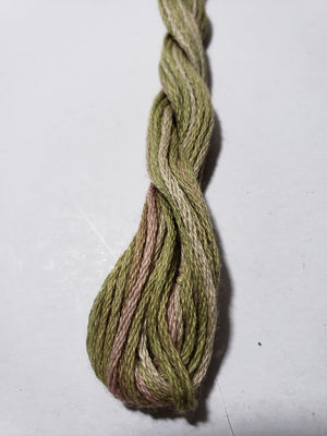 M63 Early Spring Hand Dyed Cotton Embroidery Thread 6-ply Valdani